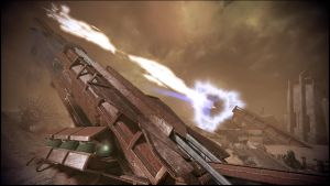 Mass Effect 3 Tuchanka Firing Guns Dreamscene by droot1986