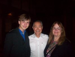 Me, George Takei, and My Mother by Bioshutt