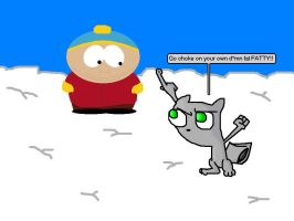 Foamy Tells Off Cartman by SpongeMonkeyz