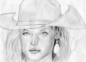 Cowgirl by clayvsc