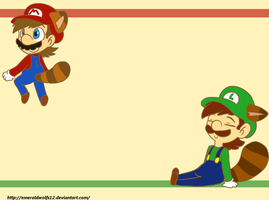 mario and luigi 2 by MariobrosYaoiFan12