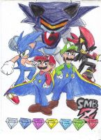 Super Mario Brothers Z by AshuraTheHedgehog199