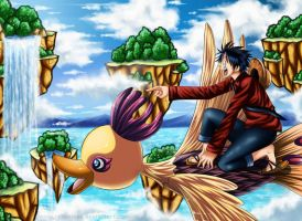 Monkey D Luffy - His World by renealexa