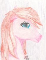 pink berry the pony by CookieMonsta409