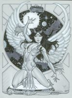 Dawnstar Legion of Superheroes by MichaelDooney