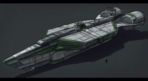 Star Wars Corellian YT Transport by AdamKop