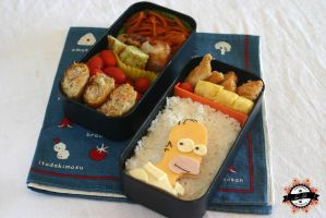 Bento Homer Simpson by RiYuPai