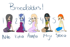 Breedables 20 points+ by beckys-adopts
