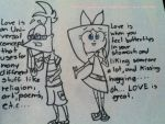 #4 ASK PHINEAS FERB AND ISABELLA by cookie62667
