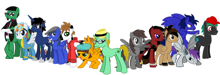 Bronies United by Moheart7