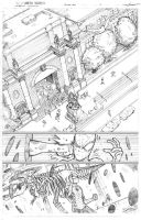Spidey vs the Spot sample page 1 by JoeyVazquez