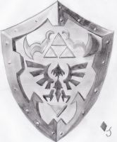Hylian Shield by Jack-0f-Diam0ndz