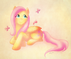fluttershy by Skyvales