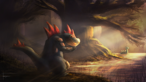 Feraligatr's Swamp by Nocturno-Anular