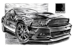 Roush RS Mustang by Arek-OGF