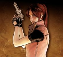 Claire Redfield by NicholasAshford