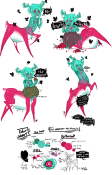 Whatever this thing is....sketches by Squidbiscuit