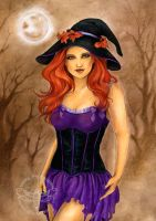 Witchy by JannaFairyArt