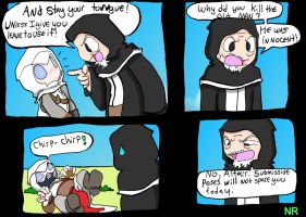 Nightmare Assassin's Creed P61 by MilkToothCuts