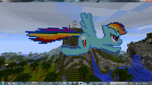 Rainbowcraft... by FredrickTheCreeper
