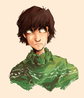 Hiccup in a christmas jumper for Phil by Dreamsoffools
