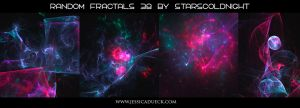 Random fractals 38 by starscoldnight  by StarsColdNight