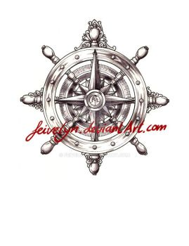 Compass rose 2 by Feivelyn