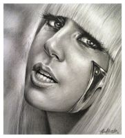 LADY GAGA P.F. by alexracu