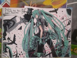 miku love war by marcell240298