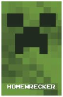 Minecraft Creeper by eskimochateau