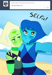 Selfie !! Lapidot by lazy-Time