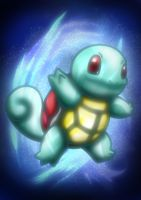 digital : pokemon Squirtle 02 2014 by darshan2good