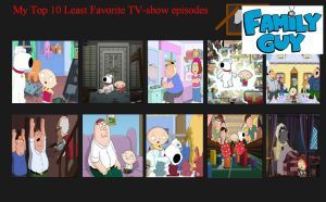 Top 10 WORST Episodes of Family Guy by Michaelsar