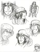 Ralf sketches. by KN-KL