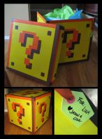 Question Block Box by GirlNamedEd