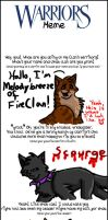 Warrior Cats Meme o3o by GingerFlight