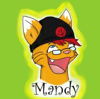 Mandy Badge by TheTater