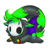 Chibi commission - Moonsaria64 by why-so-cirrus