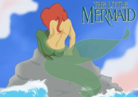 the little mermaid not finished by Holicdraw34