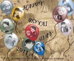 Happy RoyAi Day 2011 by RoyxRizaFan