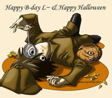 L 10-31 and Happy Halloween by Atoryga