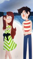 GF- Young Carla and Stan by KaleiAlie