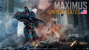 Pacific Rim- Maximus Jaeger Poster v1 by MaddogSamureye