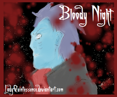 Kisame-Bloody Night by LadyQuintessence