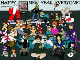 """The 'HOB' New Years Party"" by The-Hall-Of-Bish"