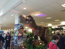 Rexy at Myer by Draconyx13