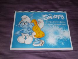 Smurfy Couples 2013 12-Month Calendar by Kiss-the-Iconist