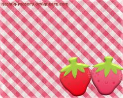 Strawberry sticker by natalia-factory