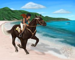 Race4 - Beachy Barbuda by FlareAndIcicle