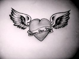 Born This Way tattoo design by Hausofch
